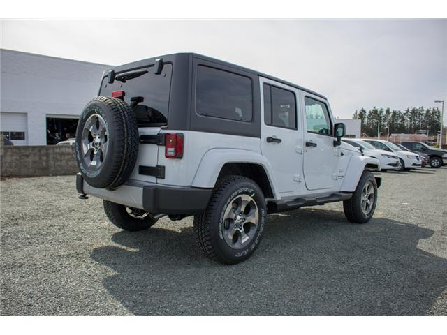 2018 Jeep Wrangler JK Unlimited Sahara (Stk: J863978) in Abbotsford - Image 7 of 18
