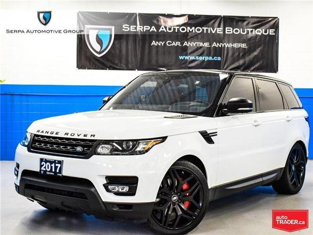 2017 Land Rover Range Rover Sport V8 Supercharged (Stk: P1102) in Aurora - Image 1 of 30
