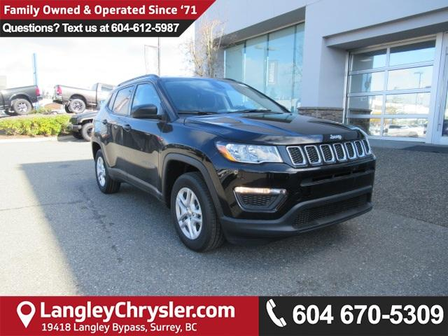 2018 Jeep Compass Sport (Stk: J330240) in Surrey - Image 1 of 13