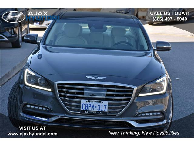 2018 Genesis G80 5.0 Ultimate (Stk: G18008) in Ajax - Image 2 of 23