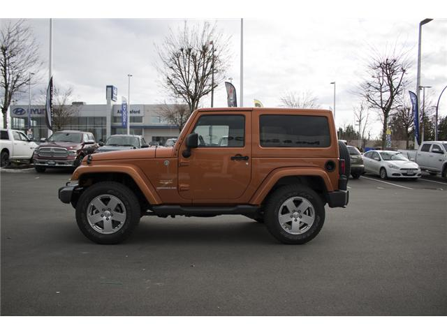 2011 Jeep Wrangler Sahara (Stk: J825593A) in Abbotsford - Image 4 of 22