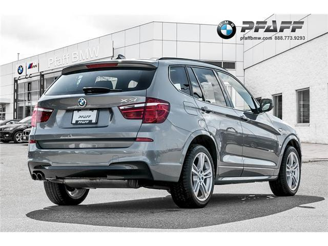 2014 BMW X3 xDrive28i (Stk: U4785) in Mississauga - Image 2 of 18