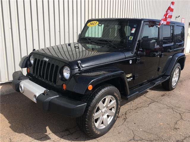 2013 Jeep Wrangler Unlimited Sahara (Stk: X4339A) in Charlottetown - Image 1 of 16