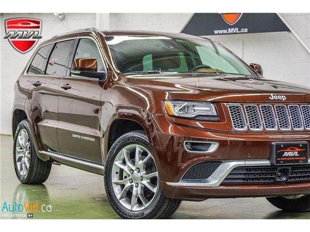 2015 Jeep Grand Cherokee Summit (Stk: 167772) in Oakville - Image 1 of 39