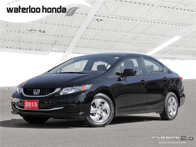 2015 Honda Civic LX (Stk: U3576) in Waterloo - Image 1 of 28