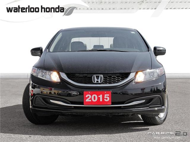 2015 Honda Civic LX (Stk: U3576) in Waterloo - Image 2 of 28