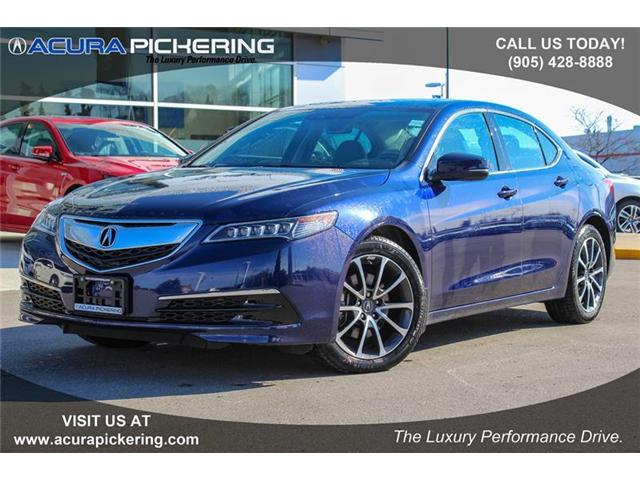 2017 Acura TLX Base (Stk: AR266) in Pickering - Image 1 of 22