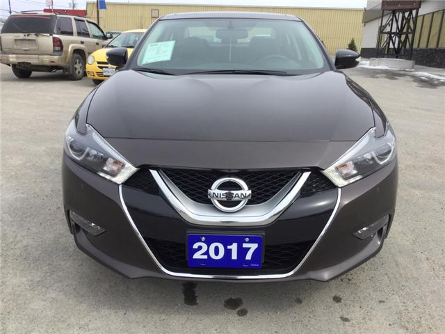 2017 Nissan Maxima SL (Stk: 18065) in Sudbury - Image 2 of 14