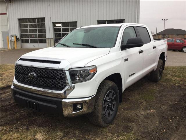 2018 Toyota Tundra SR5 Plus 5.7L V8 (Stk: N05818) in Goderich - Image 1 of 1