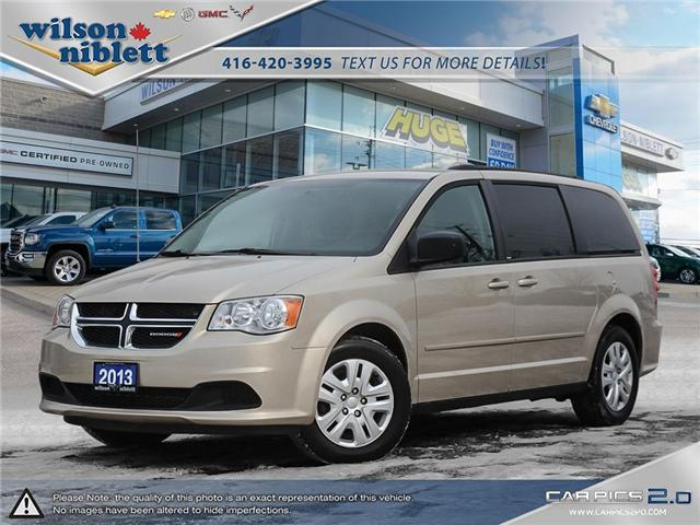 2013 Dodge Grand Caravan SE/SXT (Stk: U756178) in Richmond Hill - Image 1 of 28