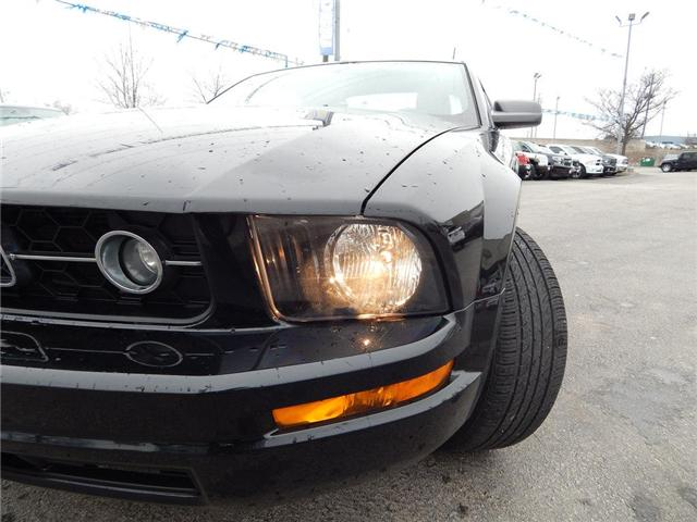 2006 Ford Mustang V6|AUTOMATIC|A/C|POWER WINDOWS AND LOCKS| (Stk: J471A) in Burlington - Image 2 of 18