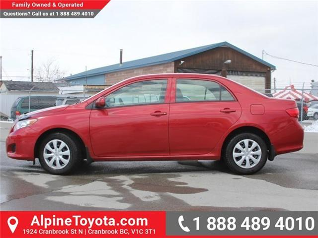 2010 Toyota Corolla CE (Stk: W703545A) in Cranbrook - Image 2 of 17