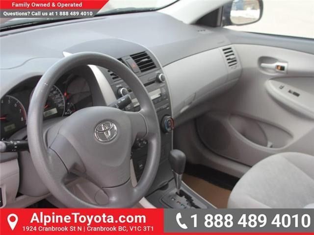 2010 Toyota Corolla CE (Stk: W703545A) in Cranbrook - Image 9 of 17