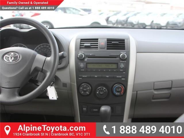 2010 Toyota Corolla CE (Stk: W703545A) in Cranbrook - Image 10 of 17
