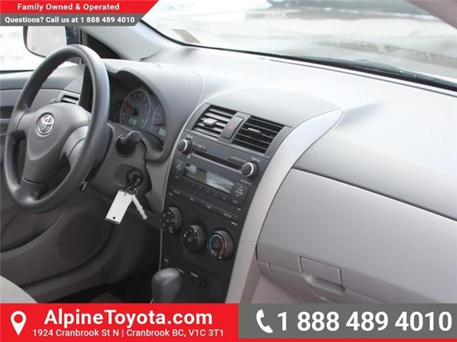 2010 Toyota Corolla CE (Stk: W703545A) in Cranbrook - Image 11 of 17