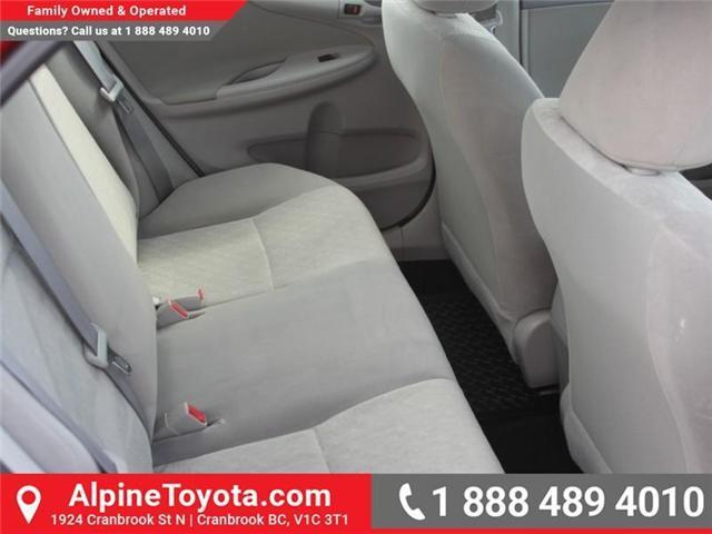 2010 Toyota Corolla CE (Stk: W703545A) in Cranbrook - Image 12 of 17