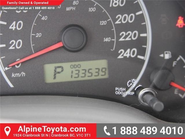 2010 Toyota Corolla CE (Stk: W703545A) in Cranbrook - Image 13 of 17