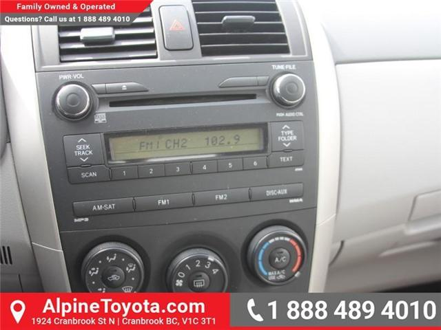 2010 Toyota Corolla CE (Stk: W703545A) in Cranbrook - Image 14 of 17