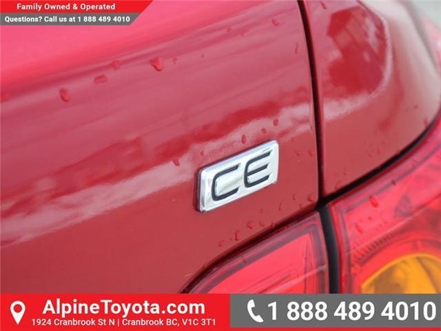 2010 Toyota Corolla CE (Stk: W703545A) in Cranbrook - Image 16 of 17