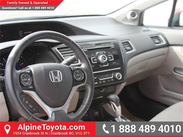 2013 Honda Civic EX (Stk: 5204612P) in Cranbrook - Image 9 of 16