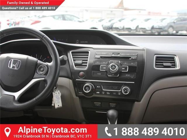 2013 Honda Civic EX (Stk: 5204612P) in Cranbrook - Image 10 of 16