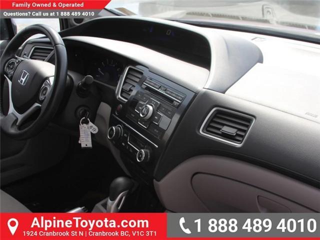 2013 Honda Civic EX (Stk: 5204612P) in Cranbrook - Image 11 of 16