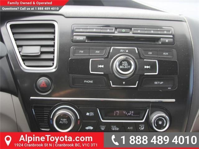 2013 Honda Civic EX (Stk: 5204612P) in Cranbrook - Image 12 of 16