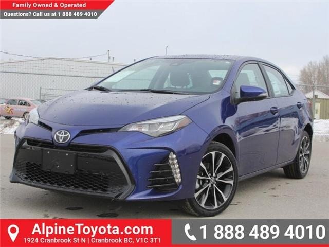 2018 Toyota Corolla SE (Stk: C074948) in Cranbrook - Image 1 of 18