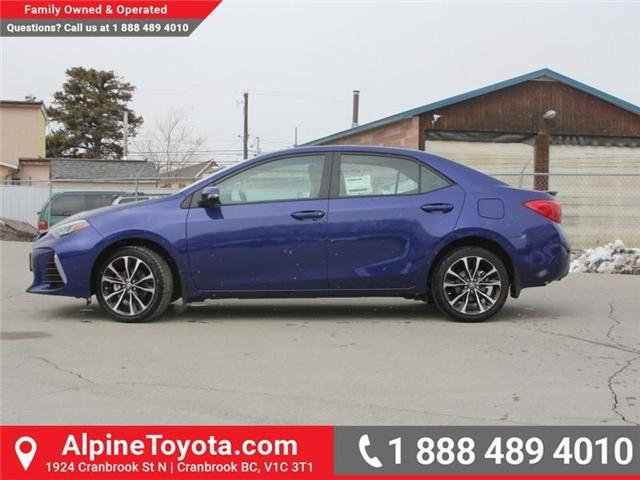 2018 Toyota Corolla SE (Stk: C074948) in Cranbrook - Image 2 of 18