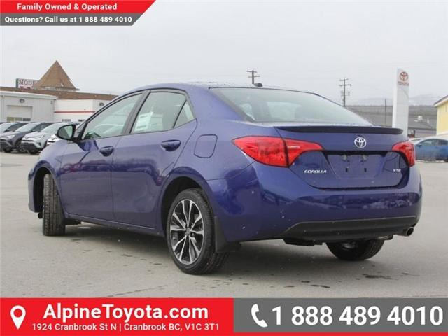 2018 Toyota Corolla SE (Stk: C074948) in Cranbrook - Image 3 of 18