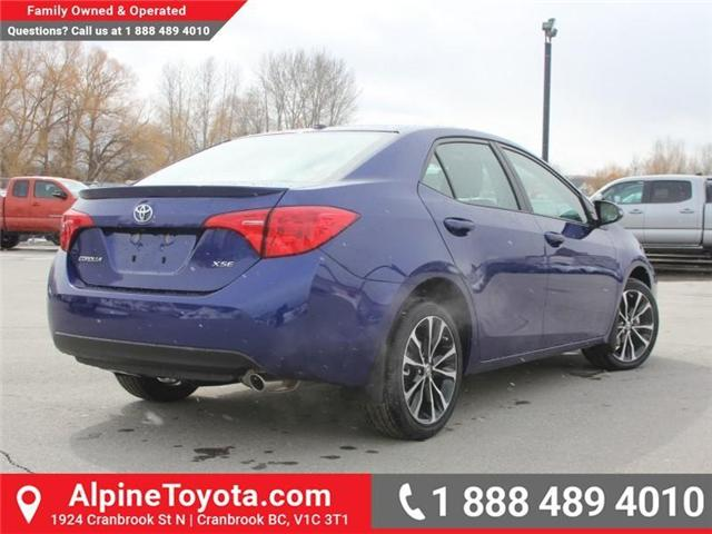 2018 Toyota Corolla SE (Stk: C074948) in Cranbrook - Image 5 of 18