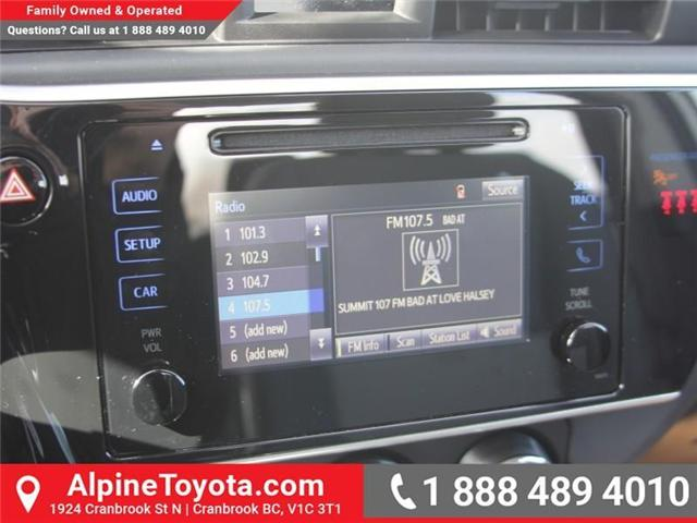 2018 Toyota Corolla CE (Stk: C075140) in Cranbrook - Image 13 of 16