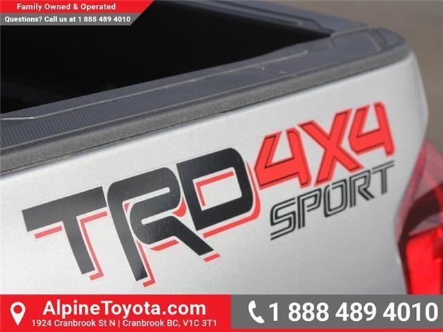 2018 Toyota Tacoma SR5 (Stk: X033201) in Cranbrook - Image 17 of 18