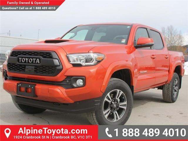 2018 Toyota Tacoma TRD Sport (Stk: X138101) in Cranbrook - Image 1 of 18