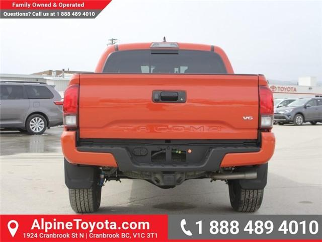 2018 Toyota Tacoma TRD Sport (Stk: X138101) in Cranbrook - Image 4 of 18