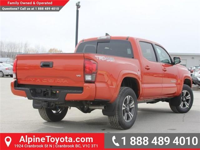 2018 Toyota Tacoma TRD Sport (Stk: X138101) in Cranbrook - Image 5 of 18