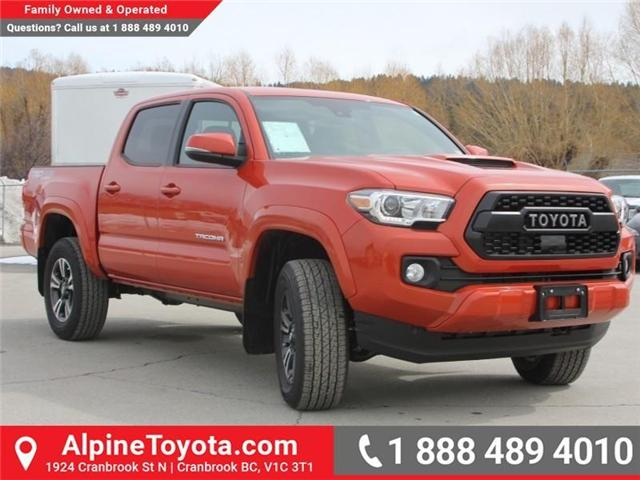 2018 Toyota Tacoma TRD Sport (Stk: X138101) in Cranbrook - Image 7 of 18