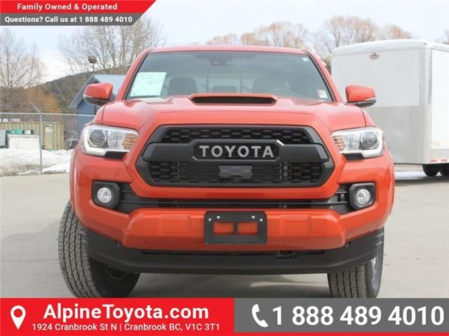 2018 Toyota Tacoma TRD Sport (Stk: X138101) in Cranbrook - Image 8 of 18