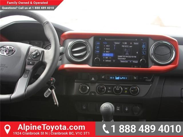 2018 Toyota Tacoma TRD Sport (Stk: X138101) in Cranbrook - Image 10 of 18