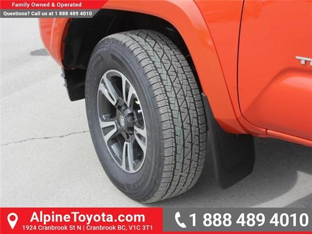 2018 Toyota Tacoma TRD Sport (Stk: X138101) in Cranbrook - Image 18 of 18