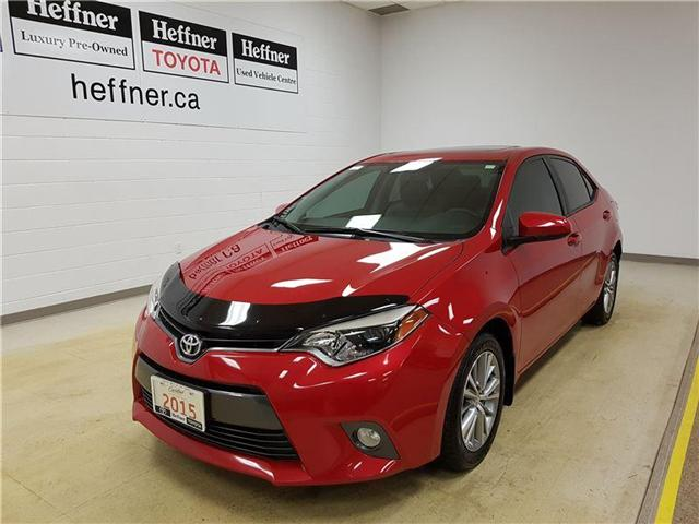 2015 Toyota Corolla  (Stk: 185313) in Kitchener - Image 1 of 21