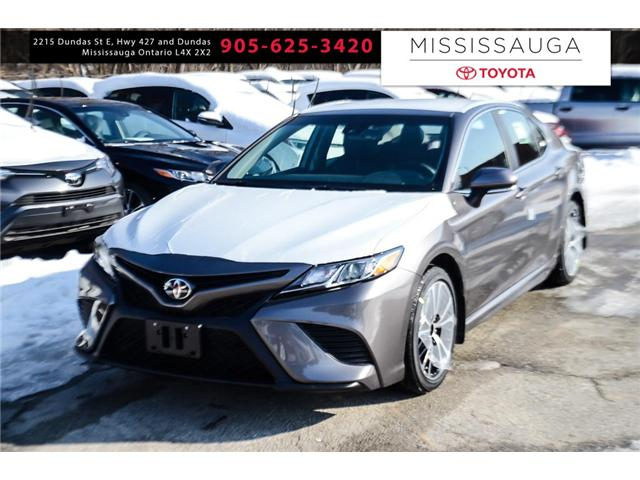 2018 Toyota Camry SE (Stk: J4557) in Mississauga - Image 1 of 9