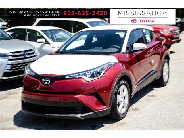 2018 Toyota C-HR XLE (Stk: J7017) in Mississauga - Image 1 of 9