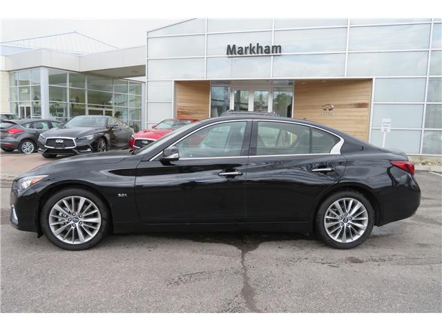 2018 Infiniti Q50 3.0t LUXE (Stk: P2941) in Markham - Image 2 of 16