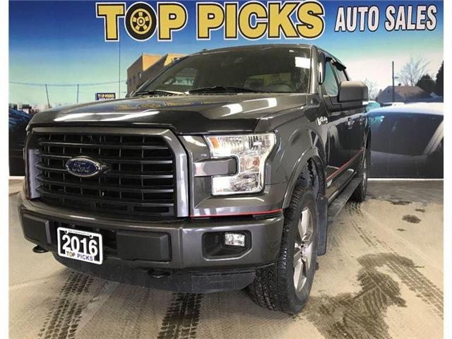 2016 Ford F-150 Lariat (Stk: 13994) in NORTH BAY - Image 1 of 17
