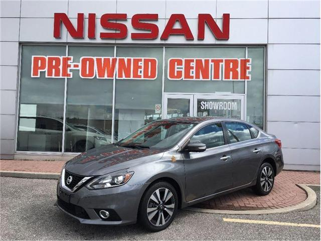 2016 Nissan Sentra 1.8 SL-NAVI-SUNROOF-LETHER SEAT--- (Stk: M9447A) in Scarborough - Image 1 of 22