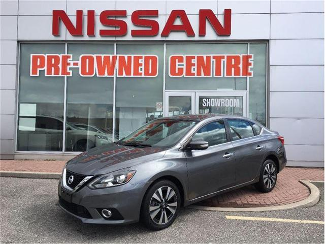 2016 Nissan Sentra 1.8 SL-NAVI-SUNROOF-LETHER SEAT--- (Stk: M9447A) in Scarborough - Image 8 of 22