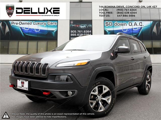 2015 Jeep Cherokee Trailhawk (Stk: D0371T) in Concord - Image 1 of 21