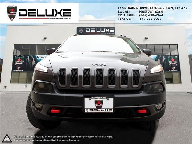 2015 Jeep Cherokee Trailhawk (Stk: D0371T) in Concord - Image 2 of 21