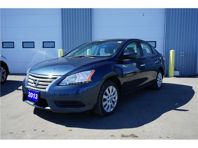 2013 Nissan Sentra 1.8 SV (Stk: IU9964R) in Thunder Bay - Image 1 of 8